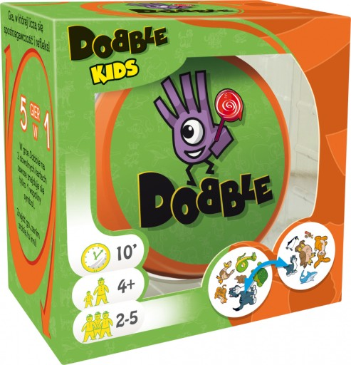 Dobble dooble GRA TOWARZYSKA Kids Rebel