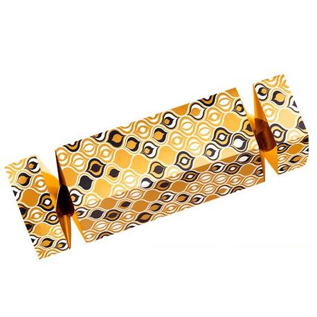 Pudełko prezentowe cukierek złoty Zapakuj prezent