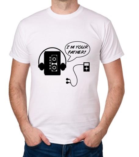 koszulka I'M YOUR FATHER! prezent 9953804847 Odzież Męska T-shirty CC ADUDCC-3