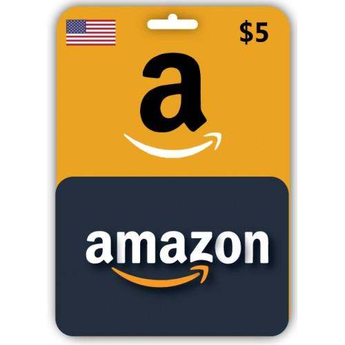Kod 5 Usd Amazon Gift Card Karta Podarunkowa Usa 9855917402 Allegro Pl