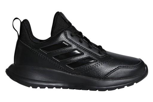 czarne siateczkowe buty adidas