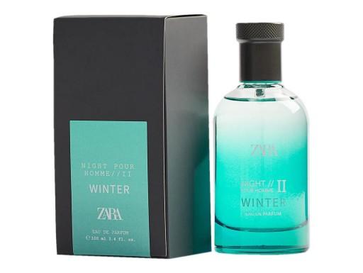 zara night pour homme ii winter