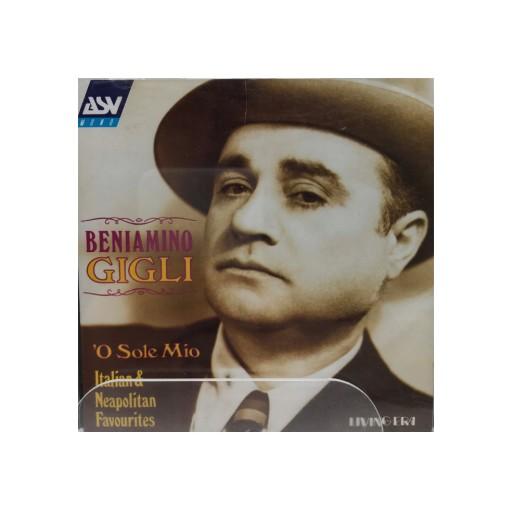 CD - Beniamino Gigli - O Sole Mio
