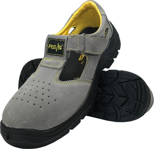 Sandały robocze skÓrzane buty bez podnoska r. 36 9362739334 Obuwie Męskie Męskie ZU HBMOZU-2