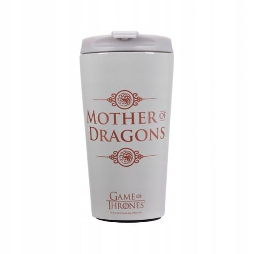 Metalowy kubek termiczny GoT Mother of Dragons