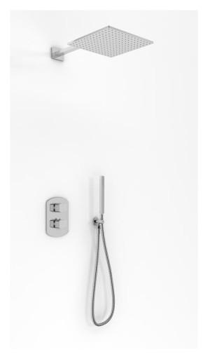 Zestaw prysznicowy podtynkowy termostatyczny 30x30