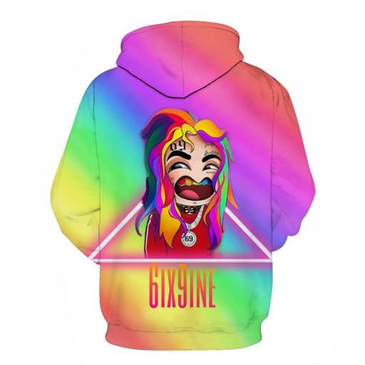 sna i jesień modny sweter z kapturem Sweter męski 9813487329 Odzież Męska Swetry CO ZHAZCO-6