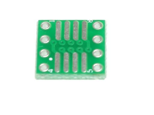 Adapter SO8 na DIP8