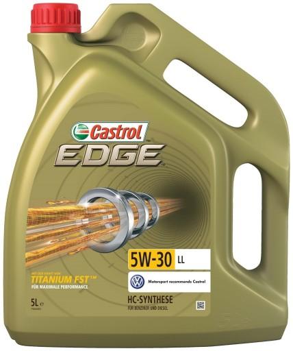 OLEJ CASTROL 5W30 LL EDGE TITANIUM 5L
