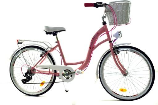 Rower Dla Dziewczynki 24 Biegi Dallas Na Komunie 7386014767 Allegro Pl