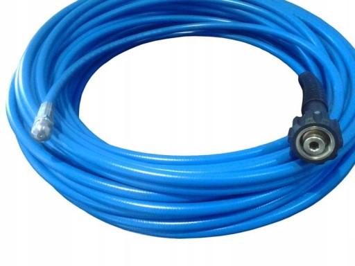 Wąż elastyczny KARCHER 25m do kanalizacji 250bar
