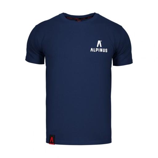 Koszulka męska Alpinus Wycheproof granatowa S 9987051763 Odzież Męska T-shirty EV ATQGEV-9