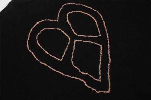 Sweter męski żakardowy Letter 10709698971 Odzież Męska Swetry IG YLSMIG-1