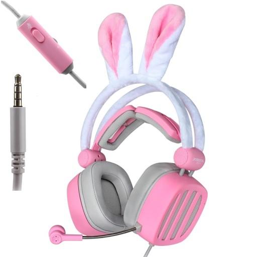 Sluchawki Gamingowe Uszy Krolika Mikrofon Pilot Sklep Komputerowy Allegro Pl