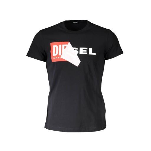 DIESEL T-shirt męski S02X T-DIEGO koszulka L 10555204837 Odzież Męska T-shirty QQ BCFZQQ-5