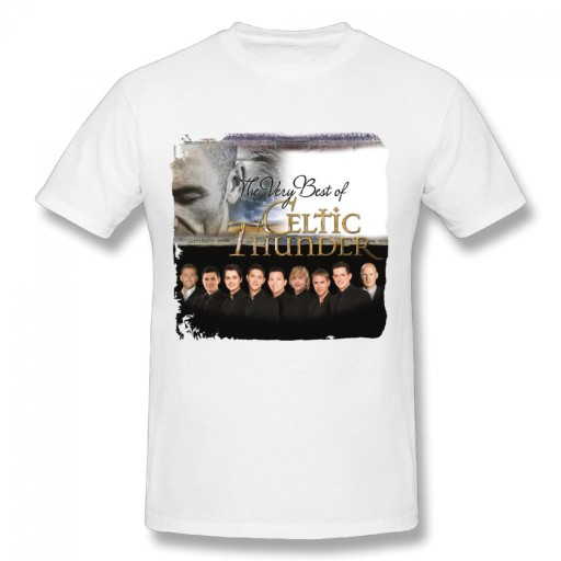 Celtic Thunder The Very Best Of meski t-shirt 10679158253 Odzież Męska T-shirty ND CKVAND-6