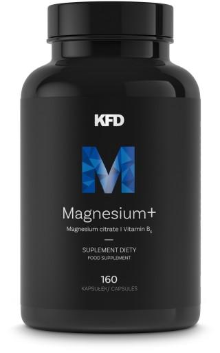 KFD MAGNEZ ORGANICZNY + Witamina B6 - 160 kapsułek