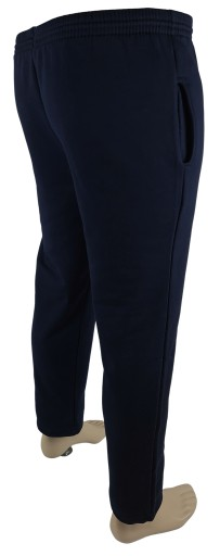 Spodnie dresowe bawełna POLSKIE granatowy XXXXL 10649238395 Odzież Męska Spodnie NU GUWGNU-1