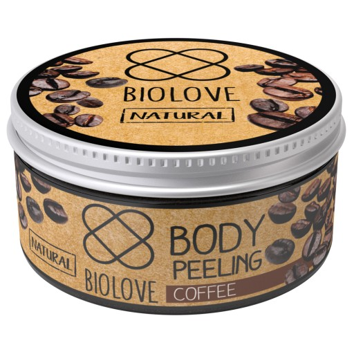 Peeling do ciała Kawa, Biolove