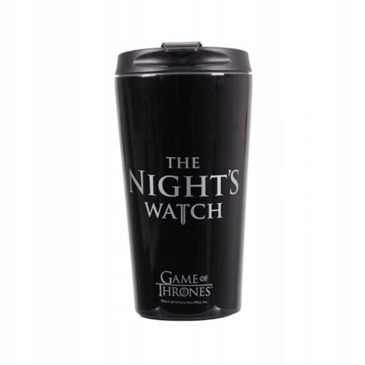 Metalowy kubek podróżny GoT The Night Watch