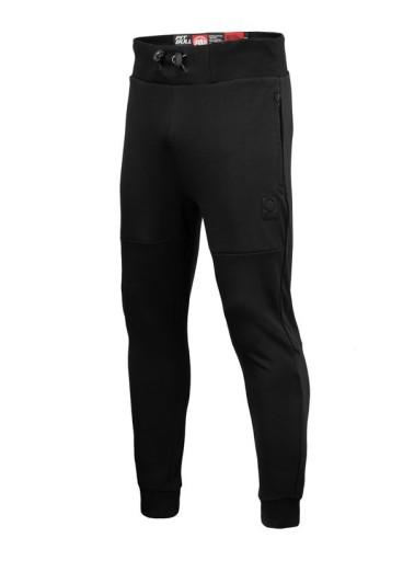 Pitbull Spodnie dresowe Alcorn (L) Czarne 10537223204 Odzież Męska Spodnie BR WZLTBR-7