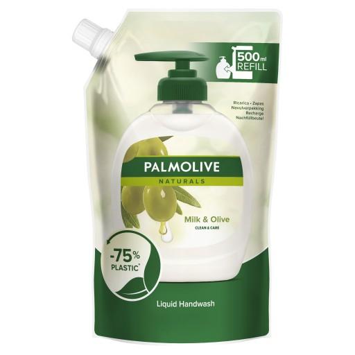 PALMOLIVE mydło w płynie OLIVE MILK zapas 500 ml