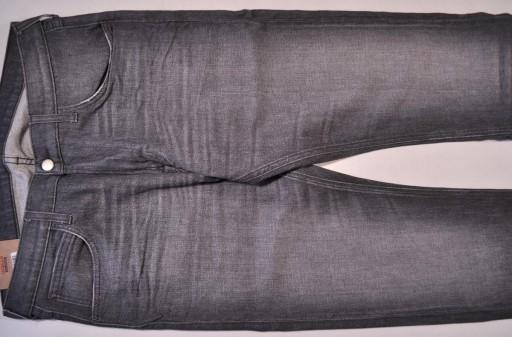 LEE spodnie SLIM skinny jeans grey LUKE _ W32 L32 10710575189 Odzież Męska Jeansy QN LABCQN-6