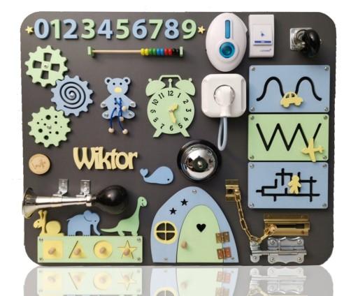 Tablica Manipulacyjna Personalizowana Montessori 8651517626 Allegro Pl