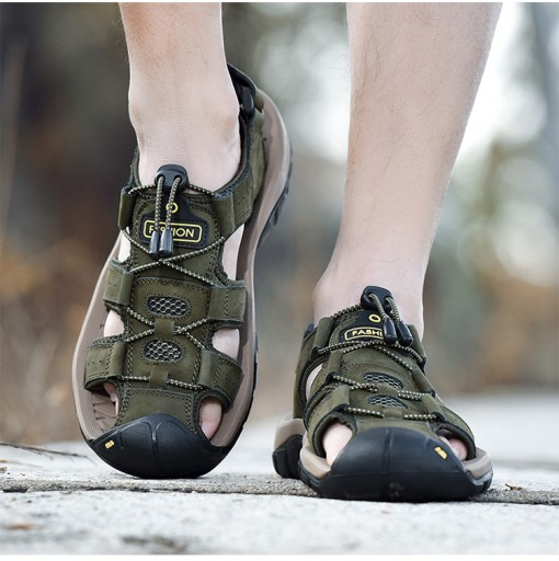 Duży rozmiar Męskie buty sandały Buty plażowe r.48 10665751763 Obuwie Męskie Męskie OA VMRAOA-8
