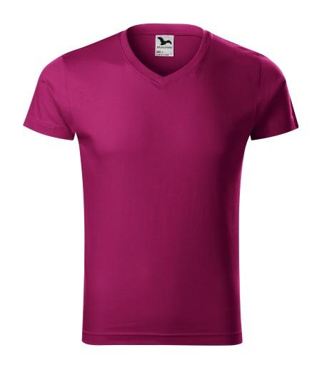 Koszulka XL fuchsia red bawełna 146malfiniADLER