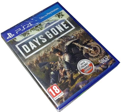 DAYS GONE / PS4 / NOWA / PL