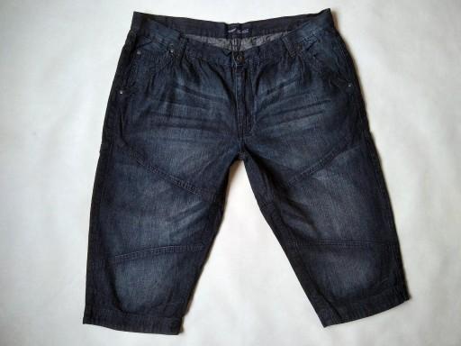 spodenki - ARIZONA - 3XL - pas 106 - jeans - EXTRA 10771426999 Odzież Męska Spodenki PJ SYFKPJ-8