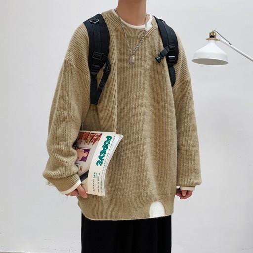 Sweter męski z okrągłym dekoltem na jesień i zimę 10011206518 Odzież Męska Swetry DW VEOLDW-1