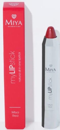 MIYA myLIPstick Naturalna Pomadka RED 2,5g