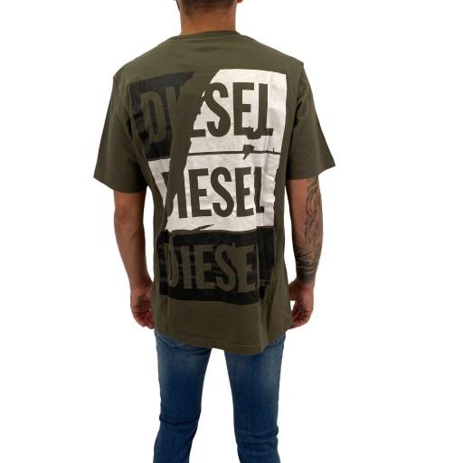 T-Shirt Diesel T-JUST-ZC 0EADQ 51F XL 9563888932 Odzież Męska T-shirty TB HKOETB-7