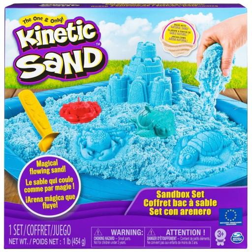 Kinetic Sand Piasek Kinetyczny Zestaw Zamek 454g 9077018343 Allegro Pl