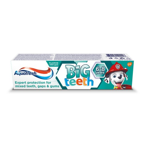 Aquafresh Big Teeth Psi Patrol pasta do zębów