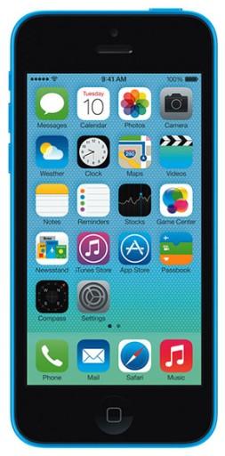 ładny PL APPLE IPHONE 5C 16GB NIEBIESKI