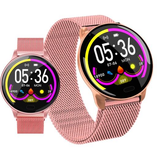 Smartwatch Damski Zegarek Bransoleta Mesh 8419124106 Sklep Internetowy Agd Rtv Telefony Laptopy Allegro Pl