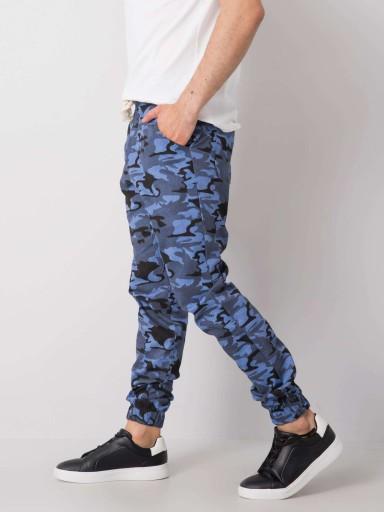 Wygodne bawełniane SPODNIE MĘSKIE moro - XL 10728190209 Odzież Męska Spodnie YQ SOZLYQ-2