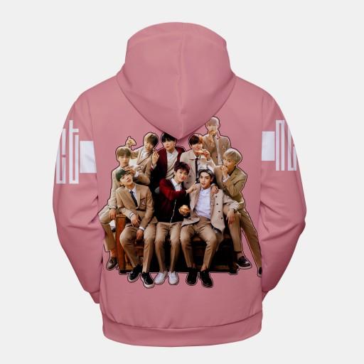 Sweter męski Rok otaczający modny sweter z kapture 9626566632 Odzież Męska Swetry PM QPOEPM-4