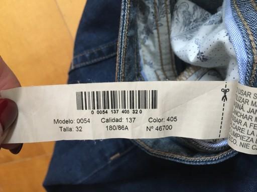Massimo Dutti_świetne spodnie męskie_jeans_M/L 10766198495 Odzież Męska Spodnie WR KATBWR-2