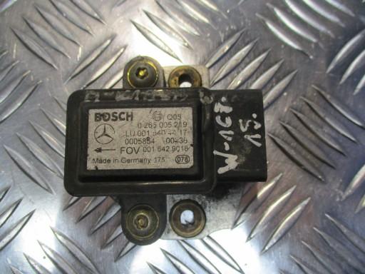 THE BLOCK ESP MERCEDES A-CLASSROOM W168 0015404417
