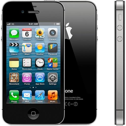 Iphone 4s 16gb Black Czarny Od Firmy Fv 9153036457 Sklep Internetowy Agd Rtv Telefony Laptopy Allegro Pl