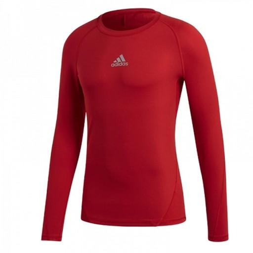 Koszulka adidas ASK LS Tee Y CW7321 CZERWONY; 140 8060802747 Odzież Męska T-shirty MH ZEZEMH-6