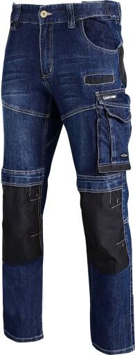 LAHTI PRO SPODNIE ROBOCZE JEANS STRECH 40510 R.XXL 8515998476 Odzież Męska Spodnie NT HKFKNT-1