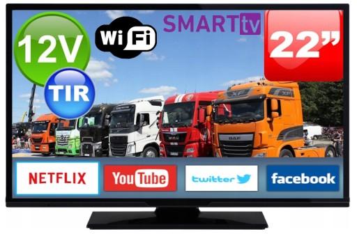 Telewizor Samochodowy 22 X27 Tv Wifi Full Hd 12 230v 9329906952 Sklep Internetowy Agd Rtv Telefony Laptopy Allegro Pl