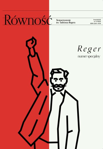 Równość - REGER, czasopismo, kwartalnik, pismo