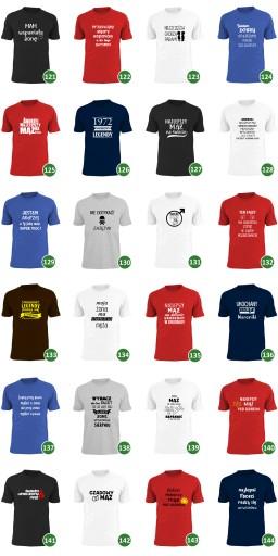 co jak co ale żona to mi się udała koszulka męża 9643377396 Odzież Męska T-shirty MN GBMVMN-6
