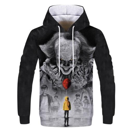 adrukiem cyfrowym na wiosnę i jesień Sweter męski 10713551053 Odzież Męska Swetry NL WHVJNL-3